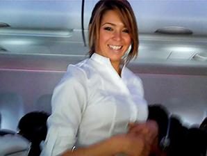 Virgin America flight attendant air-travel