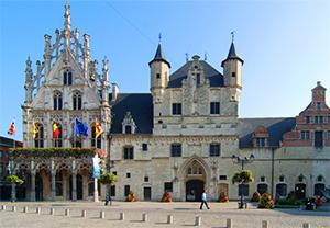 an old European castle