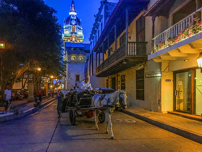 taking a carriage ride, one of the many things to do in Cartagena