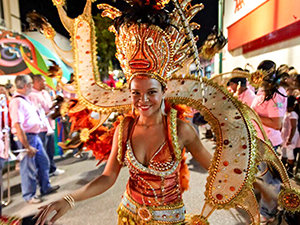carnival dancer - guide to Caribbean islands