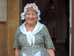 an English housekeeper on day trips from London