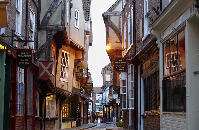 a medieval street / photo: VisitBrtain