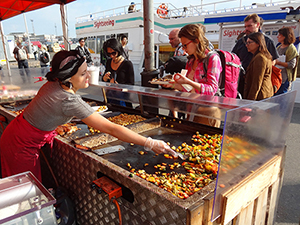 food vendors in Helsinki, Finland in Scandinavia