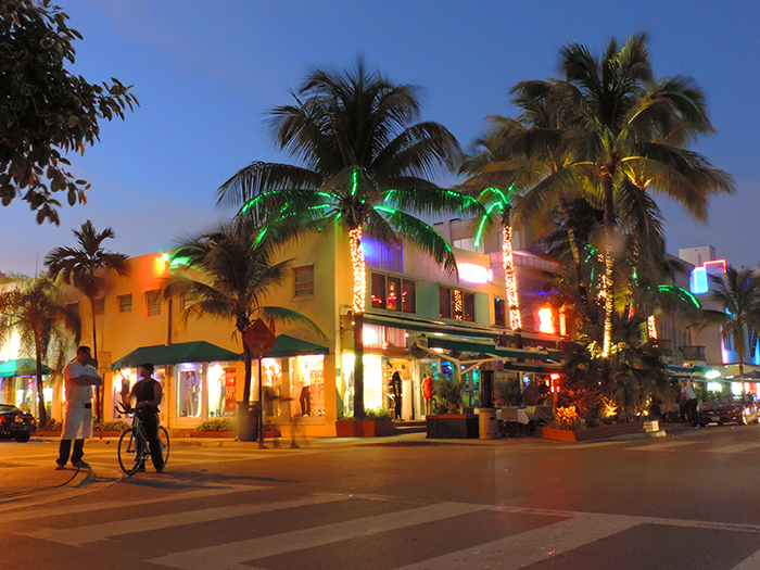 colorful buildinga in South Beach Miami