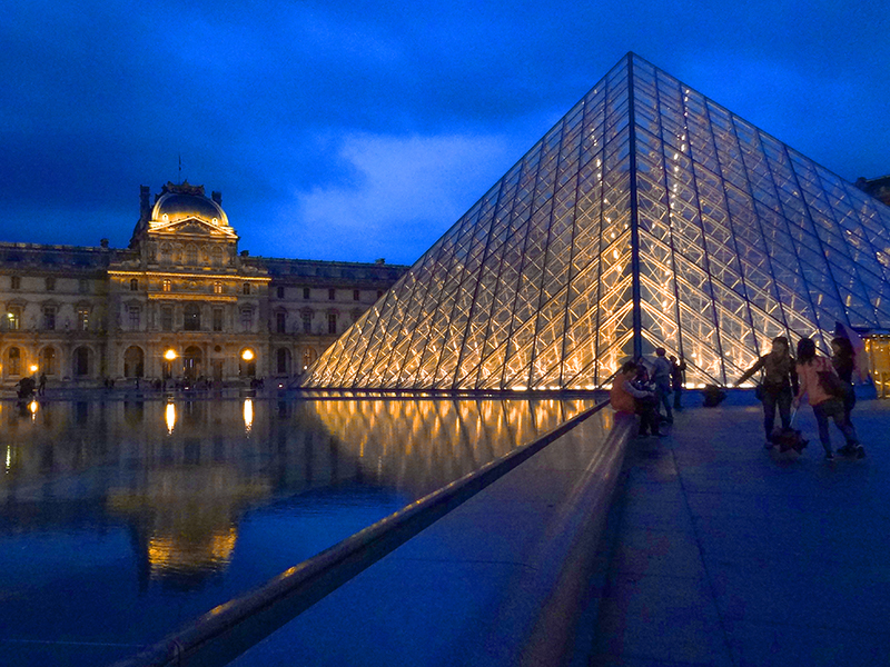 travelers in Paris with Budget Travel Tips