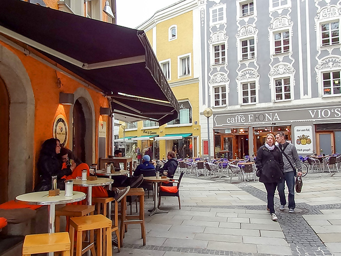 cafes in Bavarian city, one of the places to visit in Bavaria