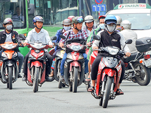 motorbikes - best city in Vietnam