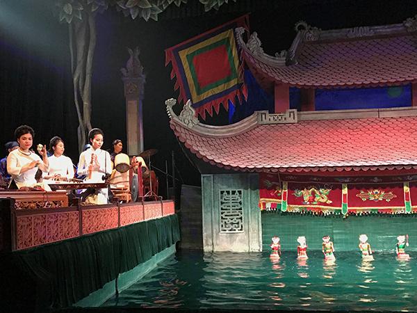 a puppet show - best city in Vietnam