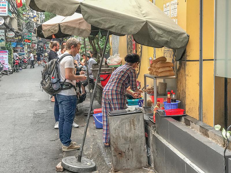 street food - best city in Vietnam