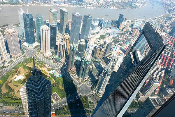 buildings in a city top 10 in Shanghai