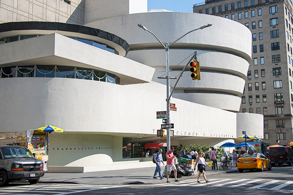 The Gugenheim Museum in NYC