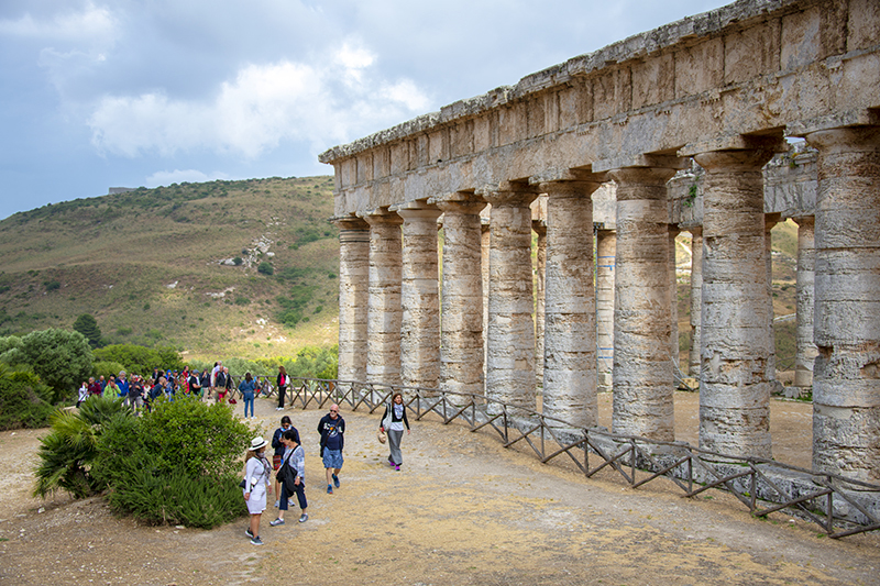 One of the best places to visit in Europe - a Greek temple in Sicily