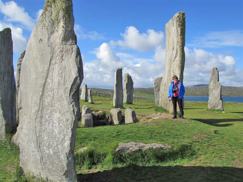stone circles on the Scottish islands