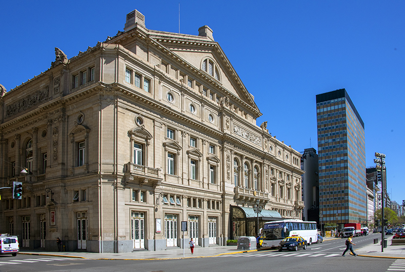 leave time in Buenos Aires to see the Teatro Colon