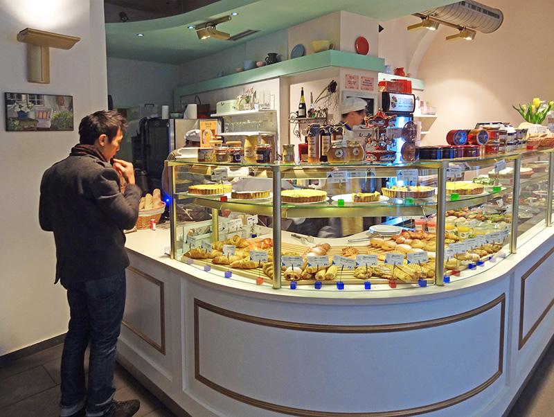a take-away food shop