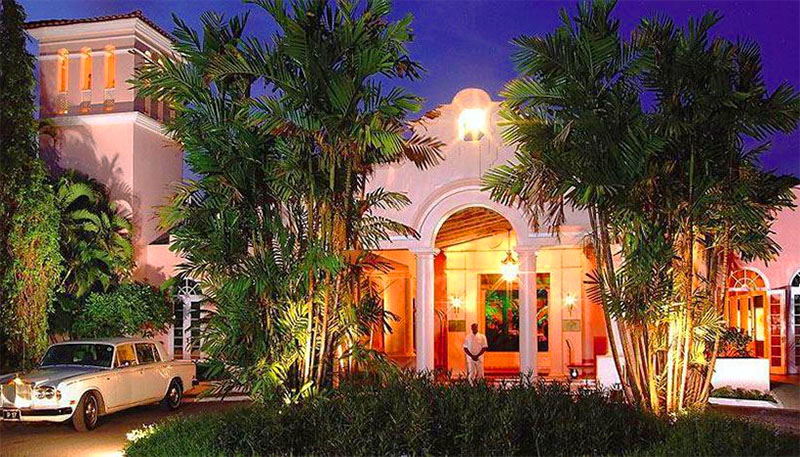 The Fairmont Royal Pavilion hotel, a popular Barbados resort for an island holiday