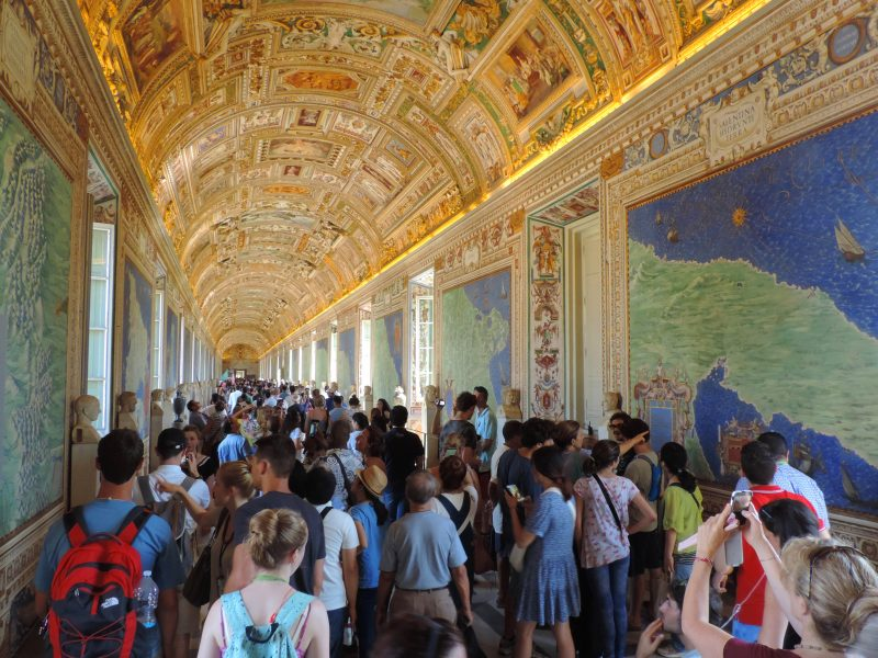 The Vatican Museums, one of the places to visit in Rome