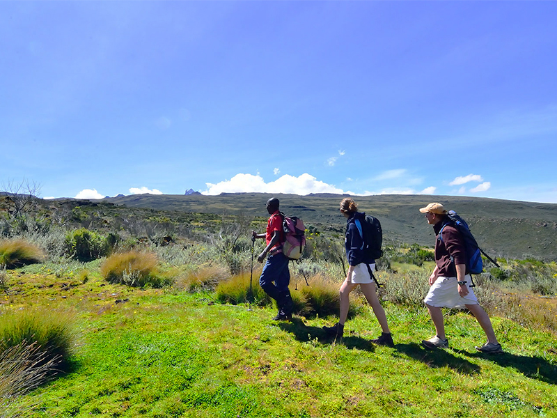 Trekking, on of the things to do in Kenya