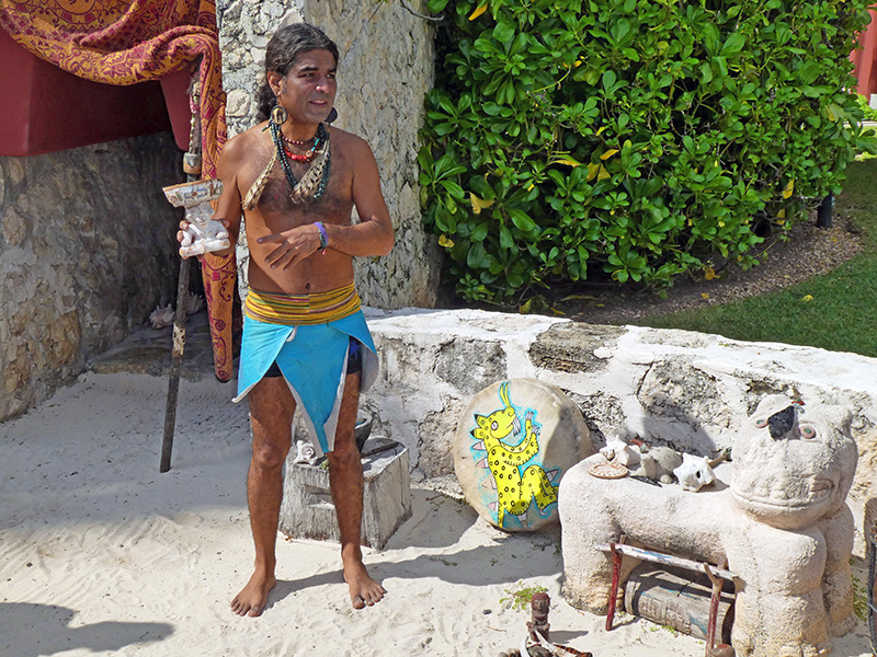 a Mayan healing ceremony