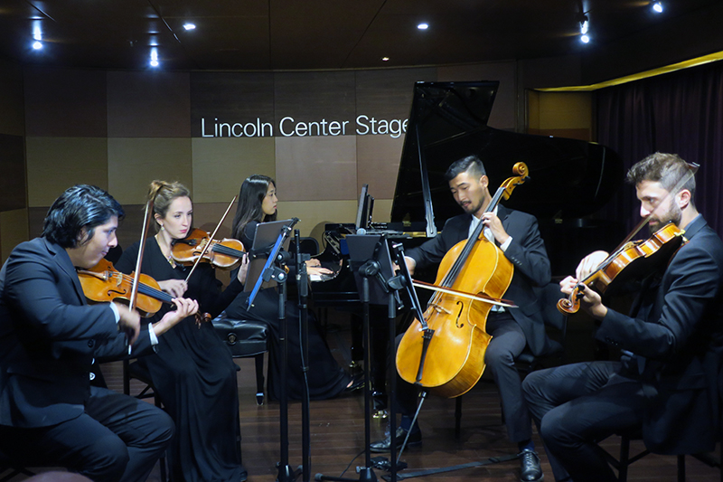 a string quartet on a cruise from vancouver to san diego