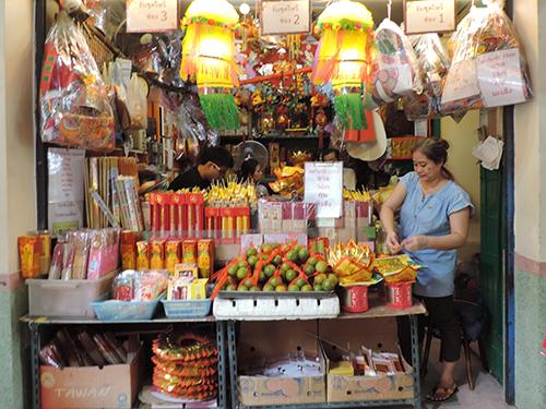chinese market street Bangkok