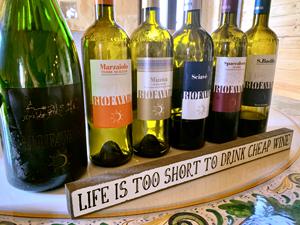 6 bottle of wine