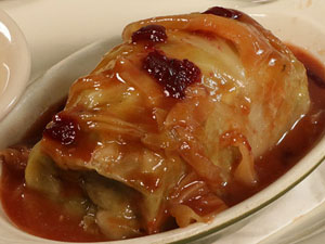 stuffed cabbage in one of the delis in New York City