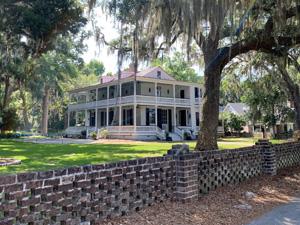 a large plantation house