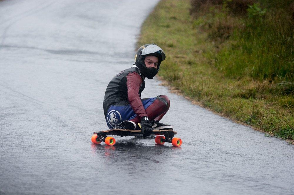 Dale British Downhill Skateboarding League