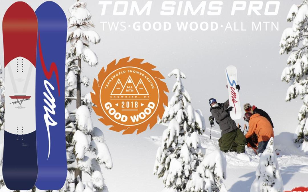 Tom SIMS Pro – Good Wood Winner