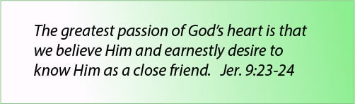 Great Passion Of God's Heart