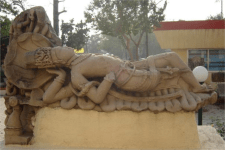 Sculpture At Central Museum Indore