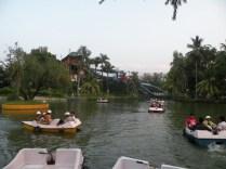Boating At Nicco Park Kolkata