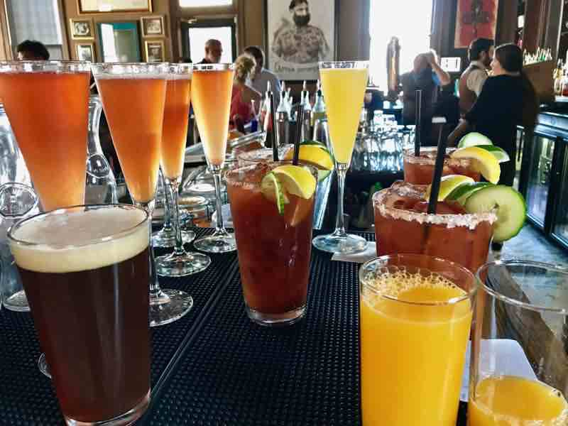 Mixed drinks offered by 301 Bistro | NevertoOldtoTravel.com | Gary House