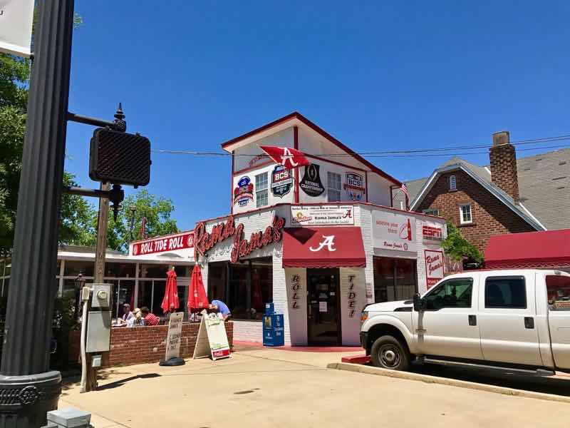 Rama Jama's, Tuscaloosa, Alabama | nevertooldtotravel.com | Gary House