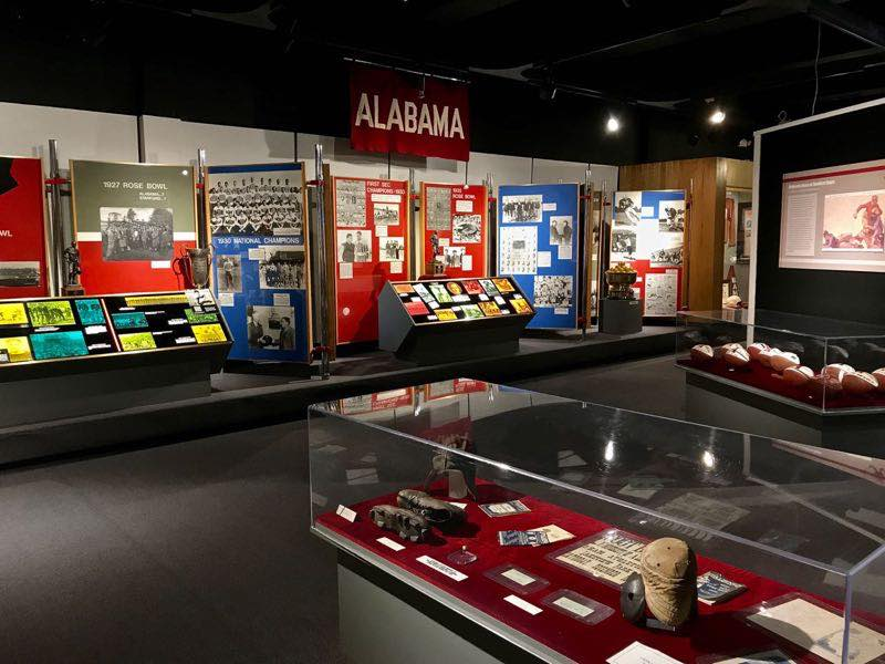 Alabama Football History - Paul W Bryant Museum | nevertooldtotravel.com | Gary House