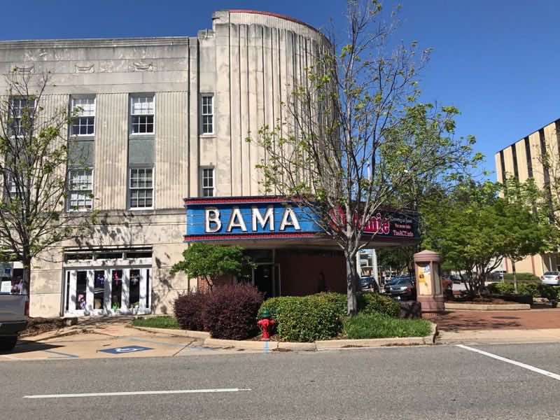 Bama Theater | nevertooldtotravel.com | Gary House