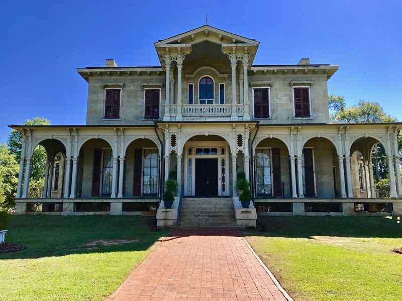 Jemison Van De Graaff Mansion Front View | nevertooldtotravel.com | Gary House