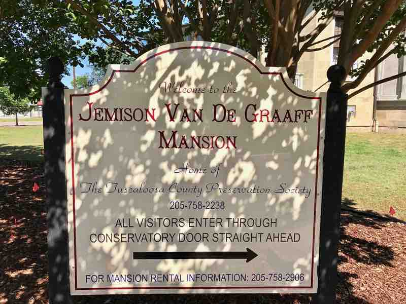 Jemison Van De Graaff Mansion | nevertooldtotravel.com | Gary House