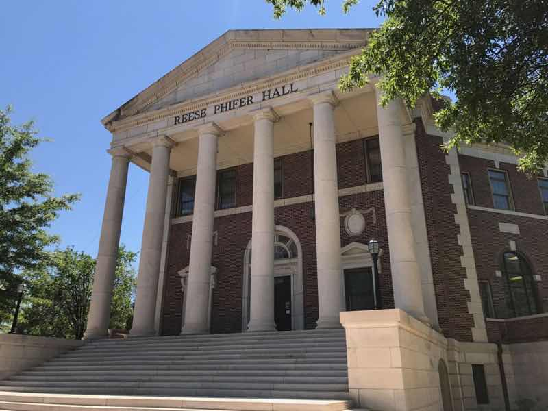Reese Phifer Hall - University of Alabama | nevertooldtotravel.com | Gary House