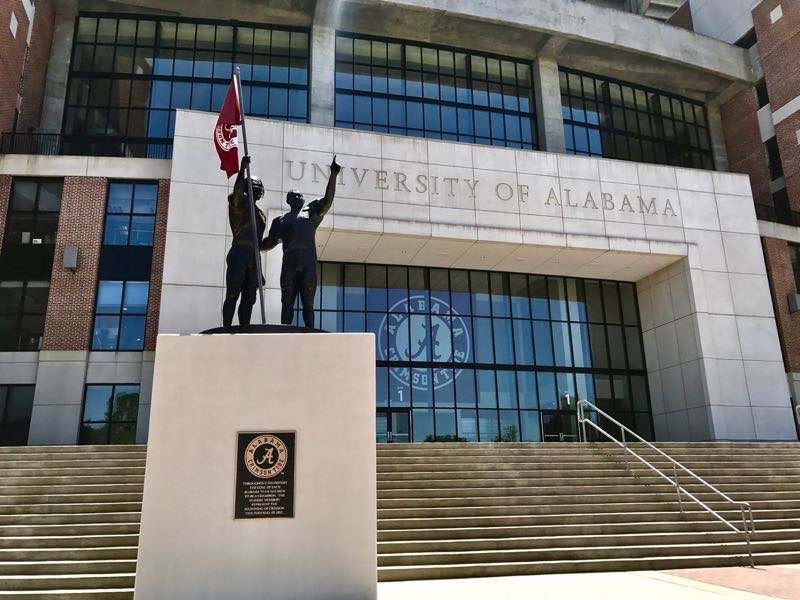University of Alabama Bryant Denny Staduim | nevertooldtotravel.com | Gary House