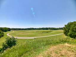 Moundville - looking down from mound B | Nevertooldtotravel.com | Gary House
