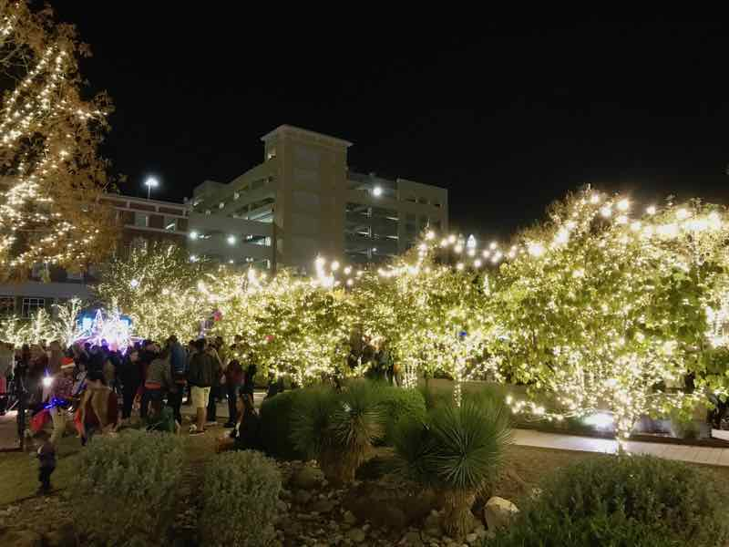 Celebration of lights at Winterfest in El Paso | Nevertooldtotravel.com | Gary House