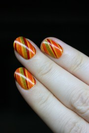 autumnal stripes nevertoomuchglitter