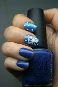 snowflake nail art tutorial nevertoomuchglitter