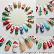 easy christmas diy nail art nevertoomuchglitter