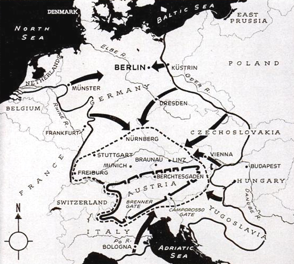 Europe Second World War Map