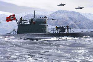 Nazi U-boat UFOs