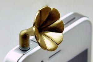 Classic Phonograph Decorative Plug