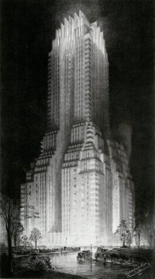 Majestic Hotel by Hugh Ferriss